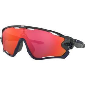 Oakley Jawbreaker Sonnenbrille carbon/prizm trail torch